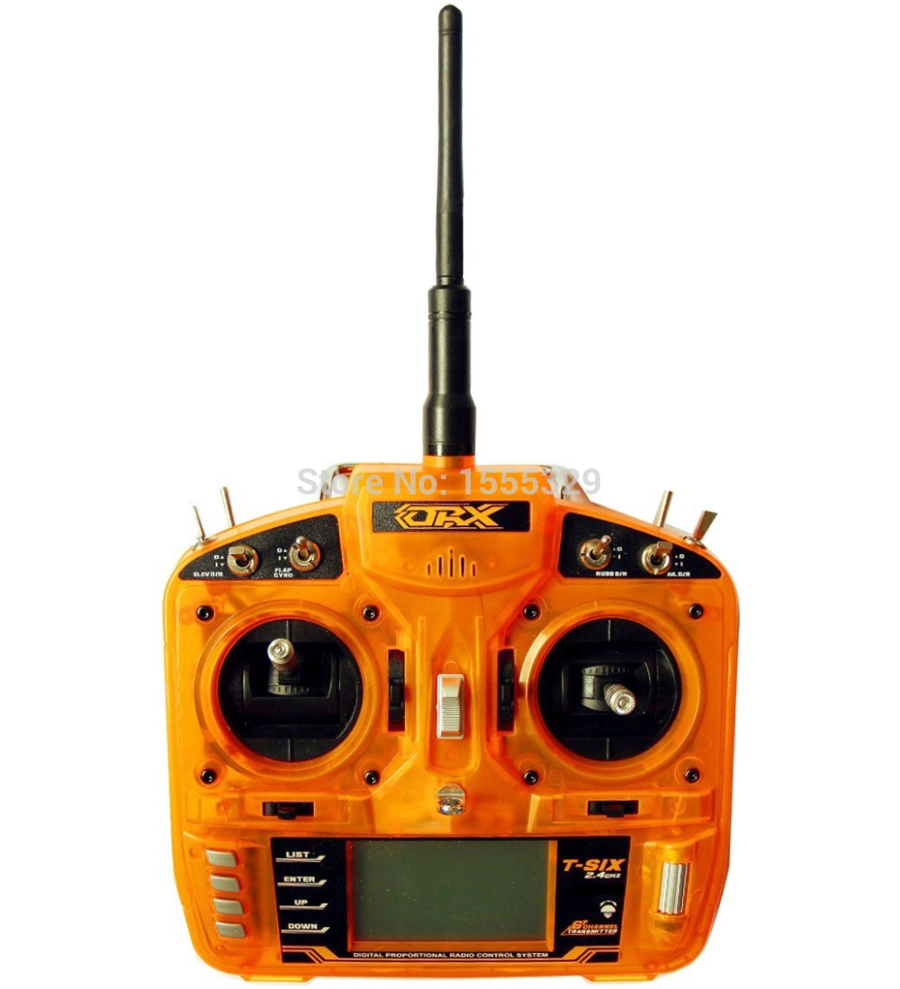Coolhobby Free shipping-ORX Full Range 2.4GHz 6 CH Wireless Control Transmitter Remote with S600 Satelite Receiver for h