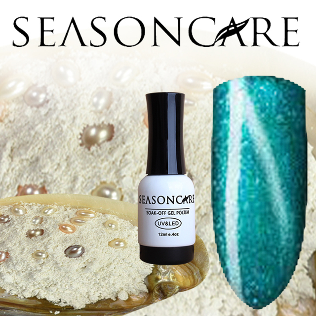 SEASONCARE GelPolish Pearl fragrance Color For Long-lasting Nail Art Manicure Soak-off UV Led Gel Polish