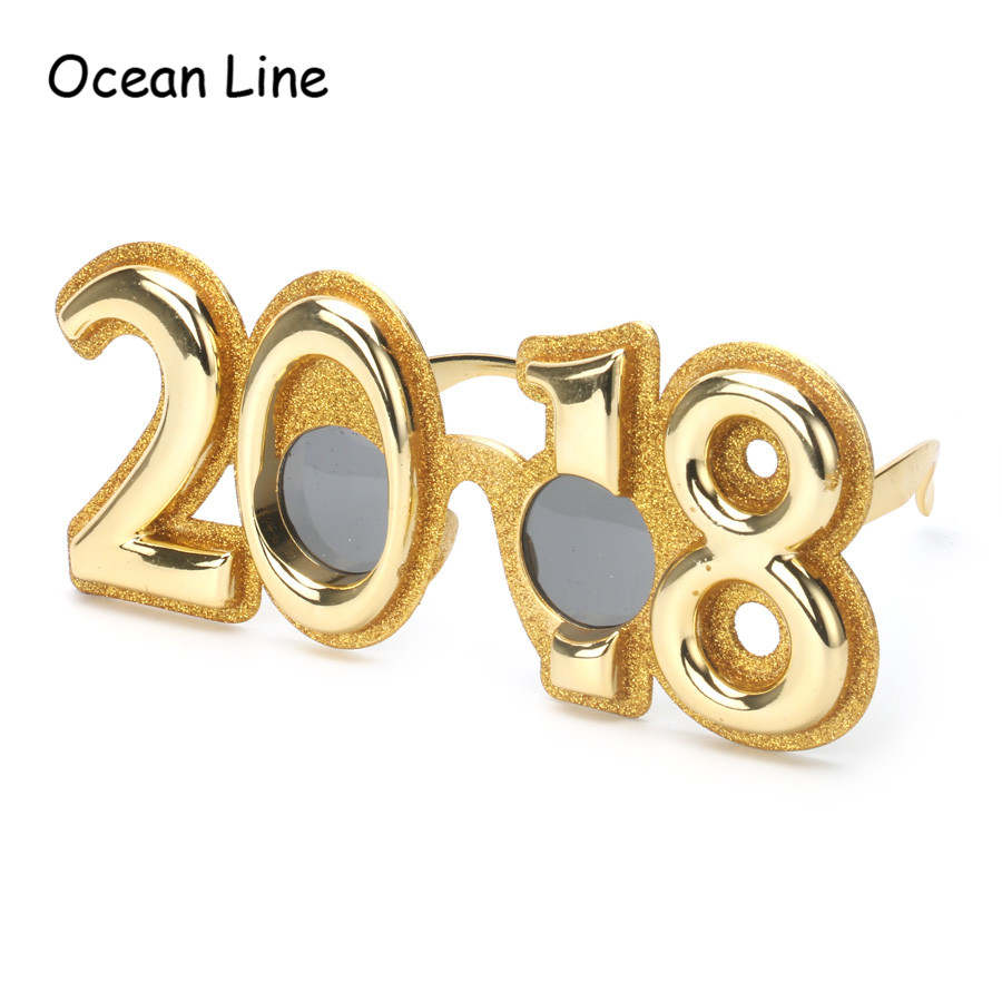 Funny 2018 New Year Party Glasses Gifts Props Celebrations Kids ...