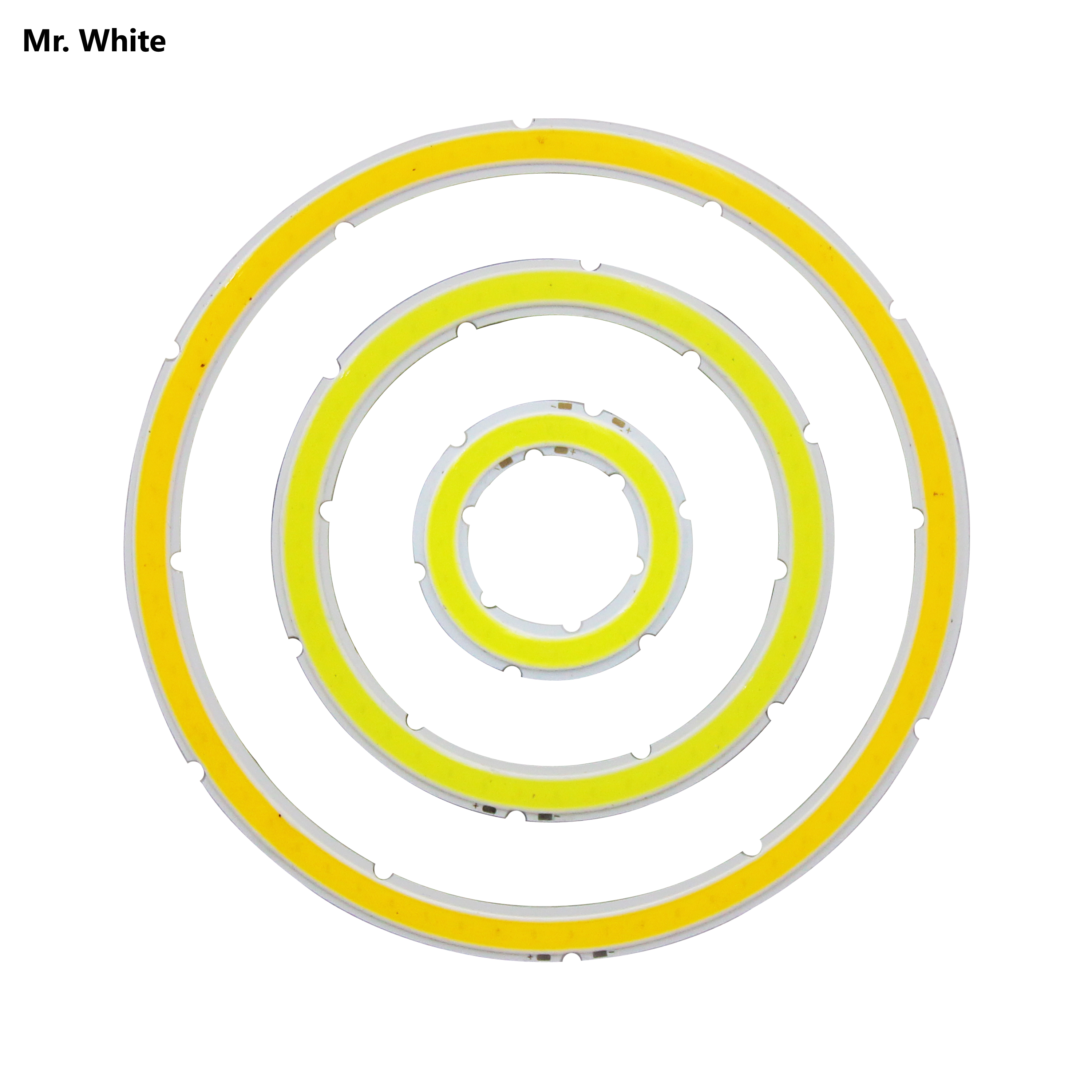 <font><b>12V</b></font> DC annular cob <font><b>led</b></font> light source 3w-15w angle eye 30mm-120mm warm cold white Ice blue cob chip for DIY image