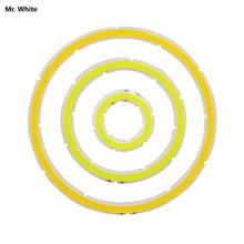12 В DC кольцевой cob светодиодный источник света 3 Вт-15 Вт угол глаз 30 мм-120 мм Теплый Холодный белый лед синий cob Чип для DIY