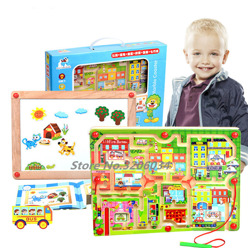 Factory Direct Sales Magnetic Maze Series Early Childhood ...
