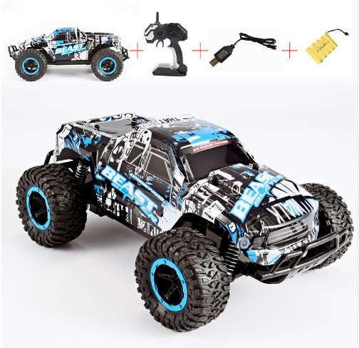 RC Car High Speed SUV 4CH Electric Speed RC Racing Bigfoot Buggy Radio Control Car Hummer Toy Car Model Toys For Boy VS A979 C24