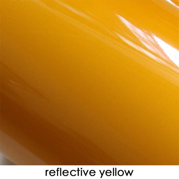 2 шт. шахматная доска клетчатый флаг двери боковые полосы наклейки для Mini Cooper R56 R50 R52 R53 F56 R60 земляк аксессуары - Название цвета: Reflective Yellow