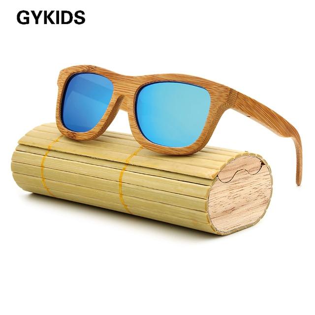 New fashion Products Men Women Glass Bamboo Sunglasses au Retro Vintage Wood Lens Wooden Frame Handmade