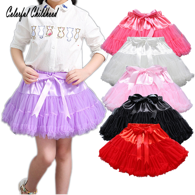 56df2ceff Fashion Fluffy Chiffon Pettiskirts tutu Baby Girls Skirts Princess ...