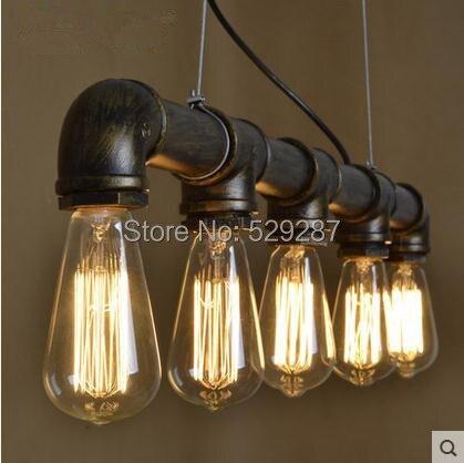 Industriële Vrijmaken verzending LED lampen Loft stijl retro ...