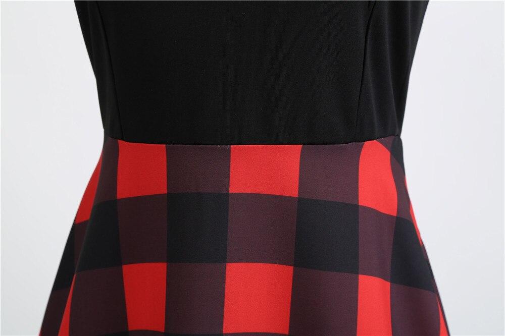 HTB12CRiOAvoK1RjSZFwq6AiCFXaB Women Summer Dresses 2019 Robe Vintage 1950s 60s Pin Up Big Swing Party Work Wear Rockabilly Dress Black Polka Dot Vestidos