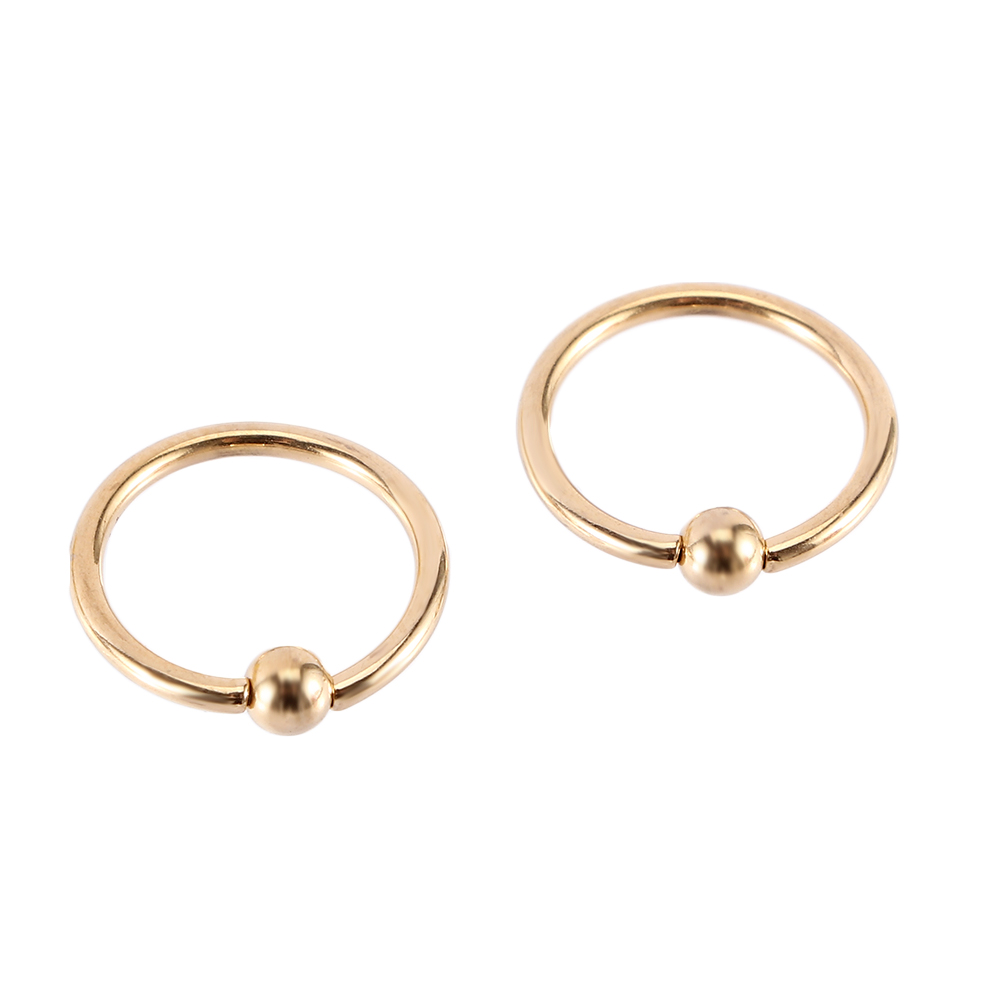 40pcs  Plain Ball Nose  Tragus Ring Hoop Body Jewelry