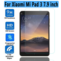 High quality Tempered Glass for Xiaomi Mi Pad 3 Screen Protector For Xiaomi  Mipad 3 Soft Clear TPU Case for Xiaomi Mi Pad 3 / 2