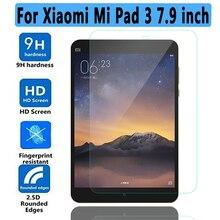 De alta calidad de Cristal Templado para Xiaomi mi Pad 3 Protector de Pantalla Para Xiaomi Mipad 3 Caja Suave del Claro TPU para Xiaomi mi Pad 3/2