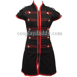 My Chemical Romance Emo Military Parade Dress Halloween Cosplay Costume L005