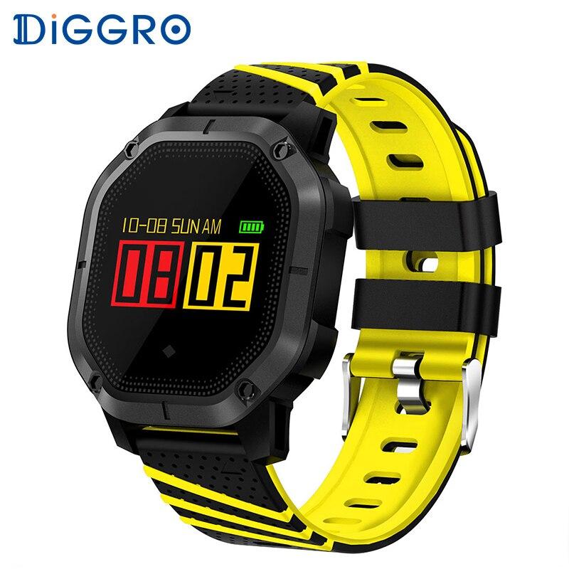 Diggro K5 Smart Watch Fitness IP68 Waterproof Swimming Heart Rate Monitor Blood Pressure Bracelet Color Display Sport Bracelet бутсы nike superfly 6 elite sg pro ac ah7366 060
