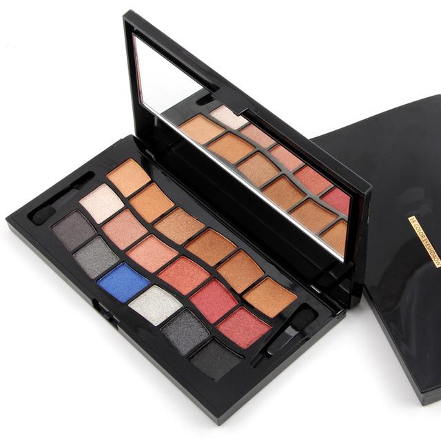 Muito Bonito 18 Cores Sombra Smokey Cor Nude Pigment Eyeshadow Palette Maquiagem Cosméticos Sombra de Olho para As Mulheres Cosméticos