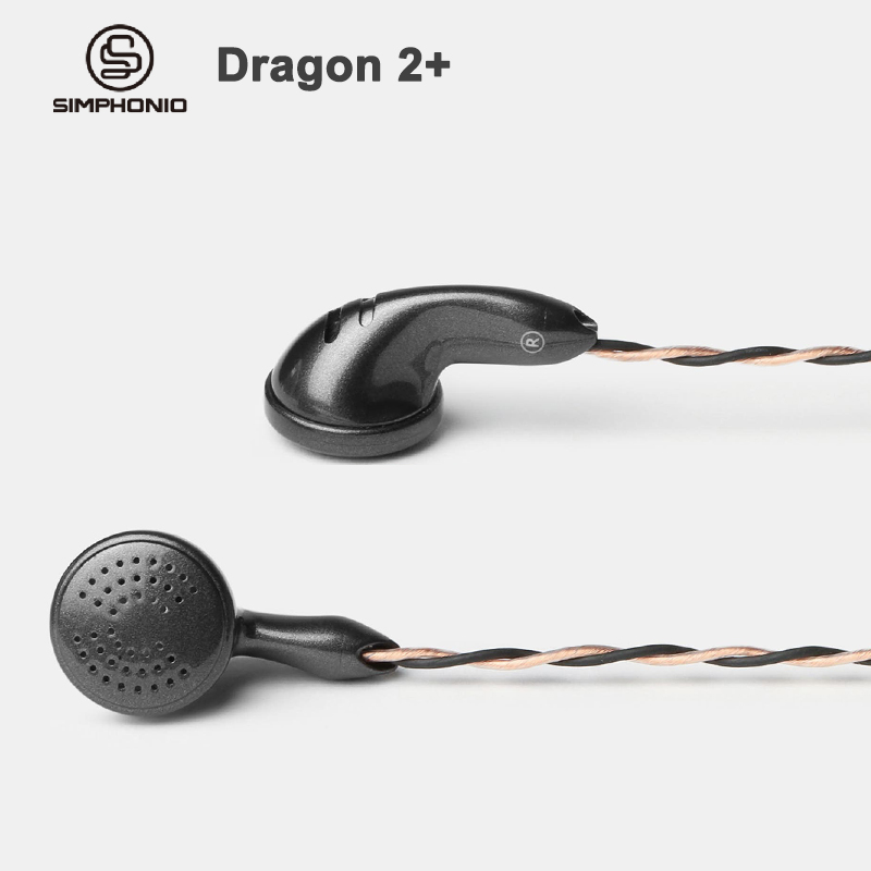 Simphonio Dragon 2 SW D2 Dynamic Driver HiFi Flat Head earphone with 6N OFC Cable 3