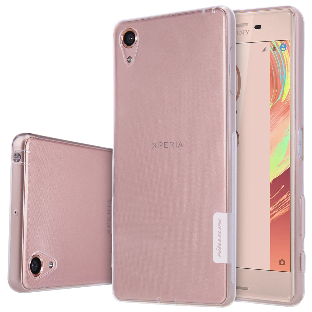 new product 732f5 bf970 Nillkin Nature TPU case for Sony Xperia XA phone cover for Xperia XA  protective cover soft ultra thin case