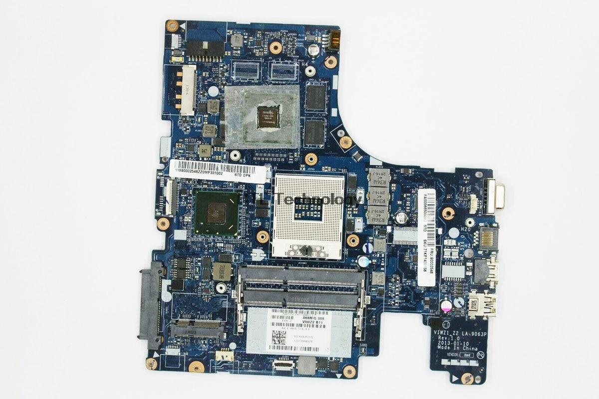 HOLYTIME Laptop Motherboard For Lenovo IdeaPad Z500 VIWZ1_Z2 LA-9063P 15 Inch GT740M 2GB HM76 DDR3