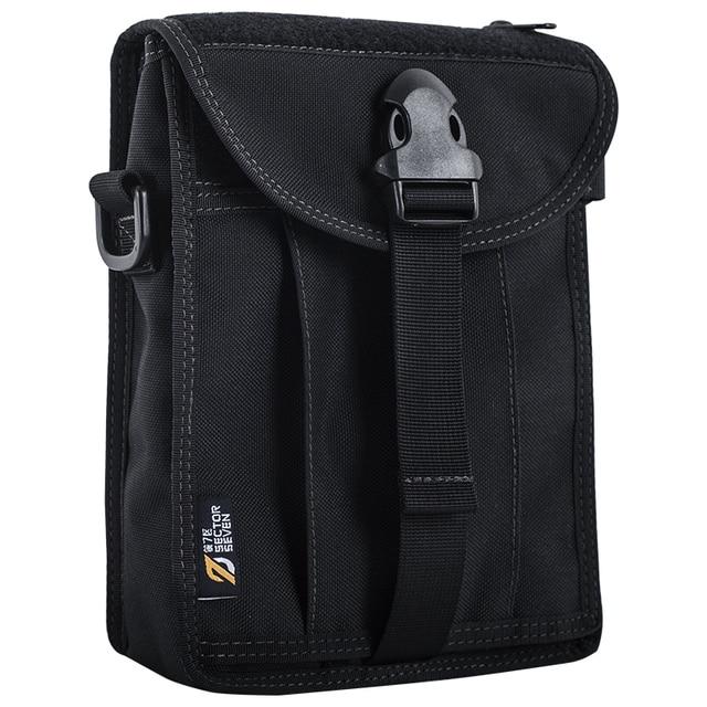 9a42f624a5de Сектор семь для мужчин 1000D нейлон повседневное портфели одноцветное  тактические сумки