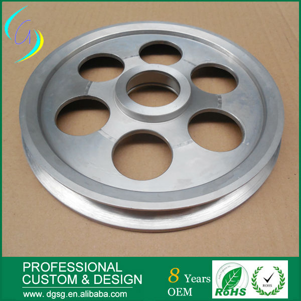 High Quality Wire Rope Steel Pulley wheels