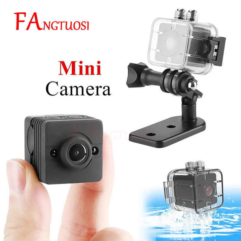 SQ12 Mini Camera small cam 1080P Night Vision Camcorder Micro video DV Camera DVR Infrared Monitor Recorder Sport Mini Camera
