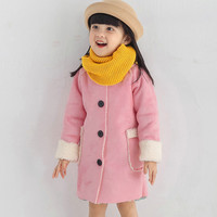 MUQGEW New Fashion Infant Toddler Baby Kids Girls Clothes Warm Winter Tops Casual Clothes Coat Hot
