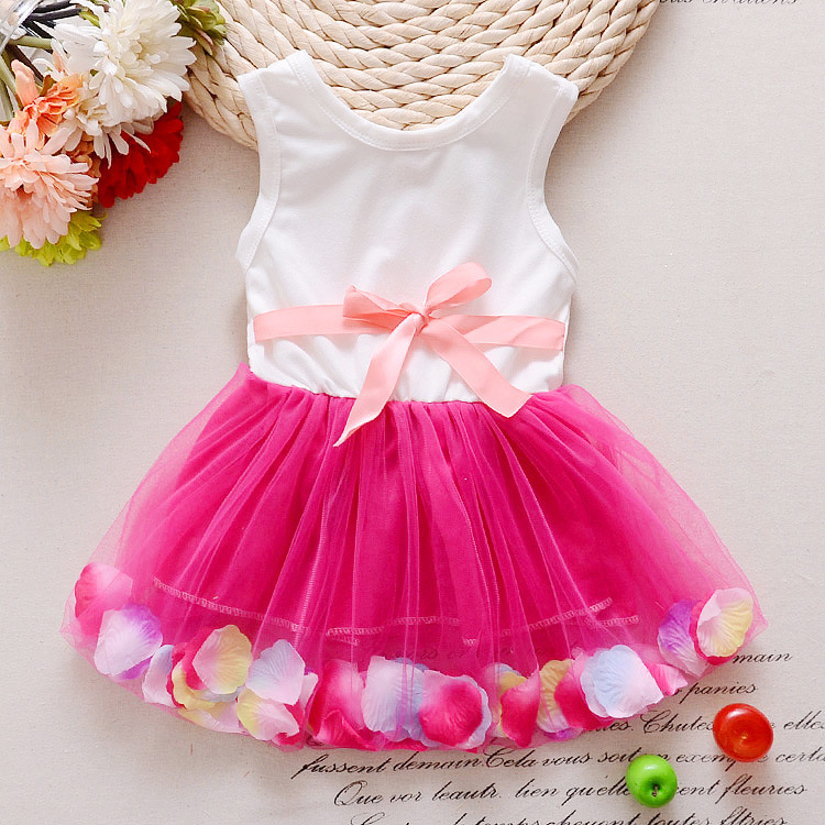 2017-new-trends-summer-sweet-little-girl-love-sleeveless-dress-cotton-lace-petals-pink-love-childrens-Princess-Dress-3