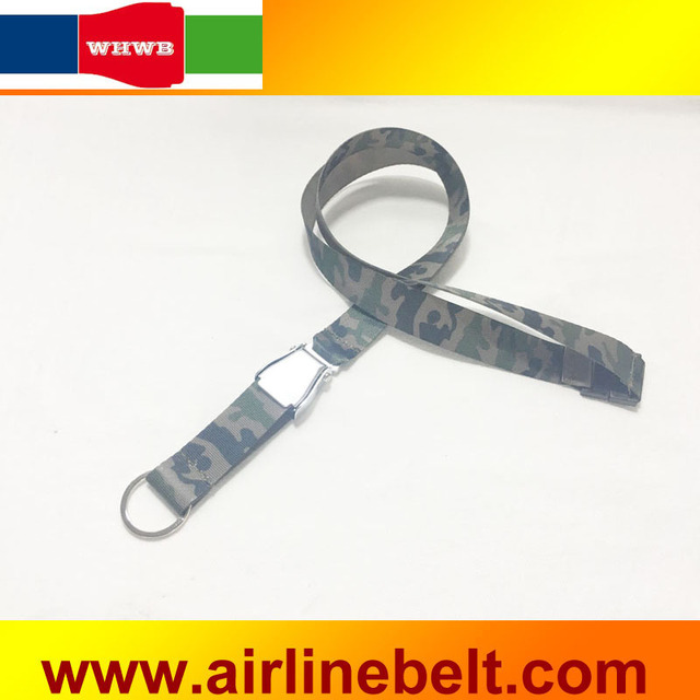 86f9bae8c007f3 Camo design airplane safety seat belt buckle lanyard camoflage neck strap  cord lanyards with key ring free shipping
