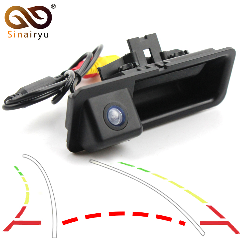 Dynamic Track Rear View Camera For BMW 3 Series 5 Series BMW E39 E46 Backup Night Vision Vehicle Camera Parking Assistance цена