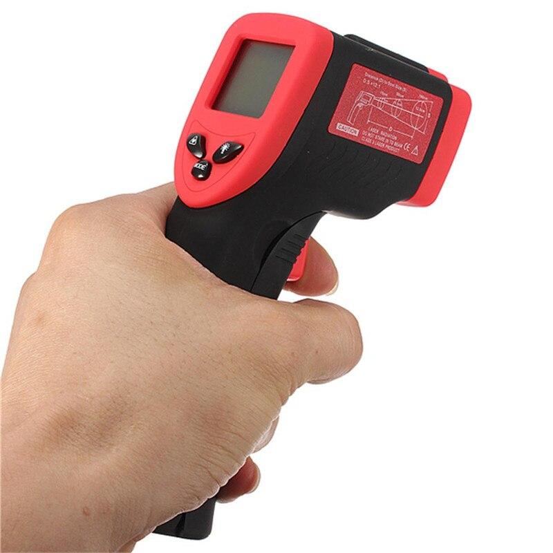 Termômetro digital display lcd infravermelho DT-500 não-contato ir temperatura tester-50 a 500 graus termometro multi-purpose