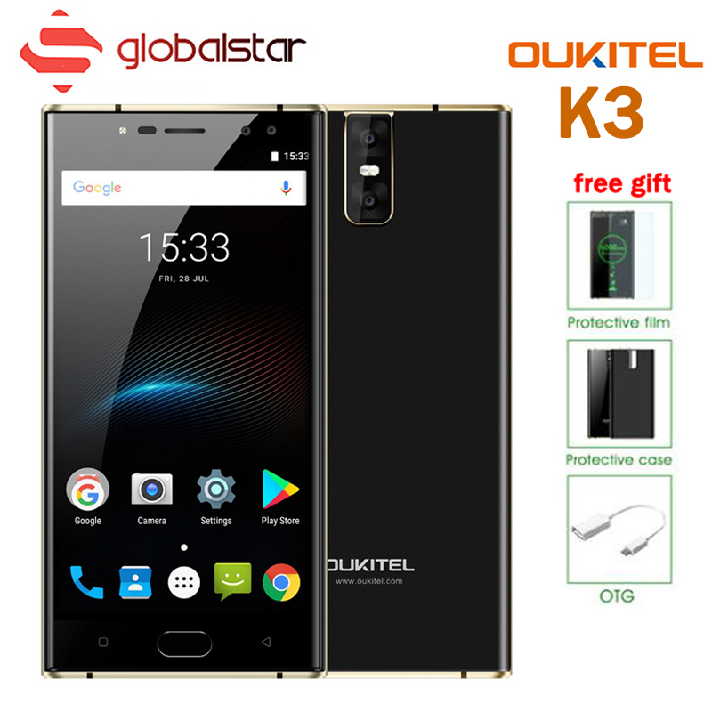 US $149 99 |Oukitel K3 6000mAh Battery Smartphone 4 Camera MT6750T Octa  Core 5 5 FHD 4G RAM 64G ROM Android 7 0 4G LTE OTA OTG Mobile Phone-in  Mobile
