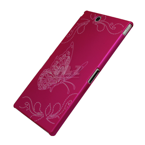 the latest 5c738 32aa0 US $6.98 |HARD RUBBER CASE BACK COVER +LCD FILM FOR Sony Xperia Z Ultra /  ZU C6802 XL39h d on Aliexpress.com | Alibaba Group