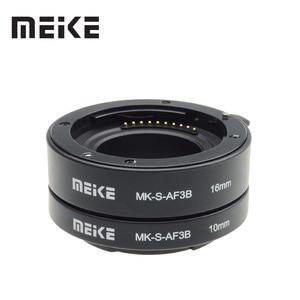 Image 1 - Meike Anillo de Tubo de extensión Macro de enfoque automático para Sony e mount, A6300, A6500, A6000, A7, A7II, A7III, A7SII, NEX 7, NEX5R, NEX 6, NEX 3N