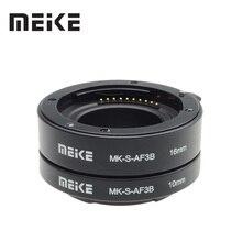 Meike Auto Focus Macro Extension Tube Ring für Sony E Mount A6300 A6500 A6000 A7 A7II A7III A7SII NEX 7 NEX 6 NEX5R NEX 3N NEX 5