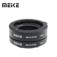 Meike Удлинительное макрокольцо для автоматического кольцо для sony E-Mount DSLR камер A6300 A6500 A6000 A7 A7II A7SII NEX-7 NEX-6 NEX-5R NEX-3N NEX-5N