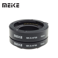 Meike anel de tubo de extensão macro de foco automático para sony e-montagem a6300 a6500 a6000 a7 a7ii a7iii a7sii NEX-7 NEX-6 nex5r NEX-3N NEX-5