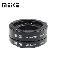 Meike otomatik odak makro uzatma tüpü halka Sony e montaj için A6300 A6500 A6000 A7 A7II A7III A7SII NEX 7 NEX 6 NEX5R NEX 3N NEX 5