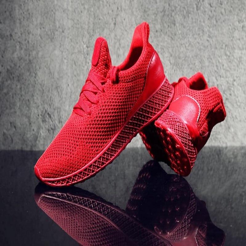 DIXINYILI nann2018 Frühling Herbst Fly Weben Männer Casual Schuhe Turnschuhe Männlichen Atmungsaktive Lace Up Chaussure Schuhe Sneaker Men36-44