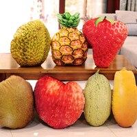 45 cm grande artificiale peluche frutta cuscino, fragola kiwi durian apple gioco giocattoli per bambini bambini ragazze ragazzi regalo di natale morbido giocattolo