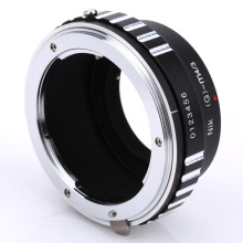 BGNING Camera Lens Adapter Ring for Nik0n AI G D S Lens to Micro 4/3 M4/3 Mount for Panasonic GH2/GH3/GH4 for Olympus M4/3 OM D