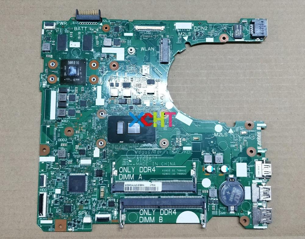 for Dell Inspiron 14 3467 XT2G4 0XT2G4 CN 0XT2G4 15341 1 91N85 w i3 6006U CPU Laptop Motherboard Mainboard Tested-in Laptop Motherboard from Computer & Office