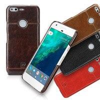 Pierre Cardin Echtes Leder Für Google Pixel Schutzhülle Rückseitige Abdeckung Für Google Pixel XL Telefonkasten Tasche Rabatt Preis