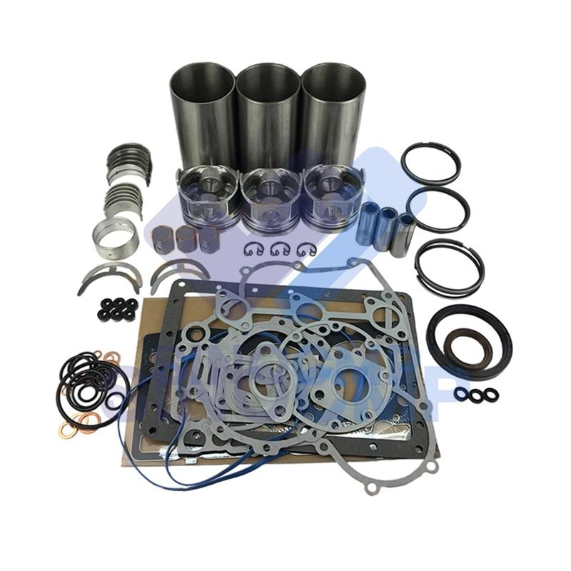 3KC1 980CC Engine Rebuild Kit For Nissan Mini Excavator Skid Steer Loader Repair Parts|Engine Rebuilding Kits| |  - title=