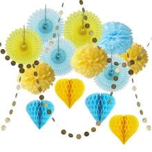 Bright Color Paper Party Decorations Set