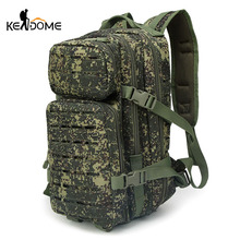 Outdoor Camouflage Sports Bags 30L Tactical Military Backpack Women Men Hiking Mountain Climbing Fishing Big Rucksack