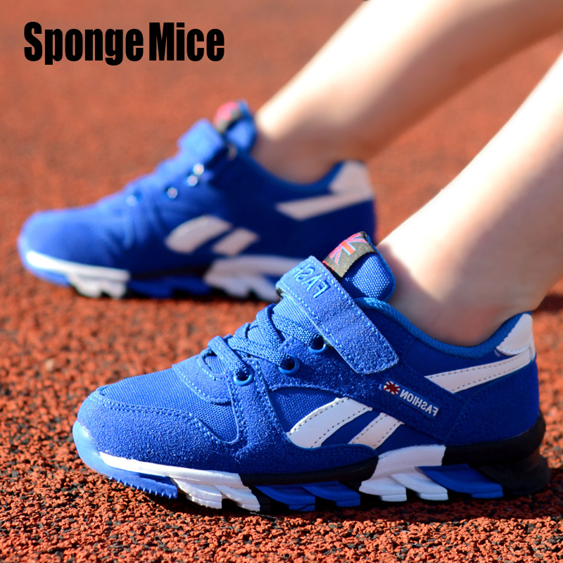 2977655489a23 Buy New fashion 2017 children s leisure coach leisure breathable children s  running shoes boys sneakers girls sport shoes size 26 39 Online
