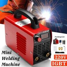 220V 10-200A 4000W портативный мини инверторов ММА IGBT мини электрический двухдуговой сварочный аппарат-механического инструмента
