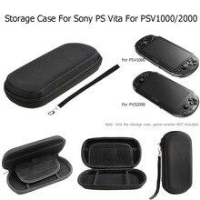 Çantası kılıf Sony PSV1000 PSV2000 depolama seyahat sert çanta koruyucu çanta Sony Psvita PS Vita PSV 1000 2000 koruyucu kutusu