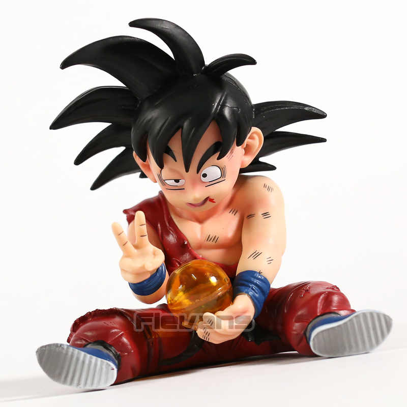 Dragon Ball Z Kakarotto Son Goku Criança Feridos Ver. PVC Figura Collectible Toy Modelo