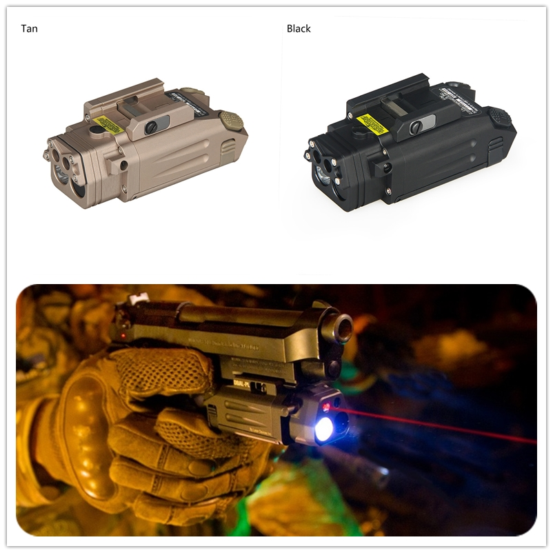 DBAL-PL Tactical IR Laser/IR Light/Strobe/Red laser 400 Lum LED Flashlight Tactical Rifles Hunting Weaponlight laser bore sight element airsoft flashlight ir red laser led torch dbal emkii ex328 with hunting rifle mini red dot sight ex201 tactical ir light