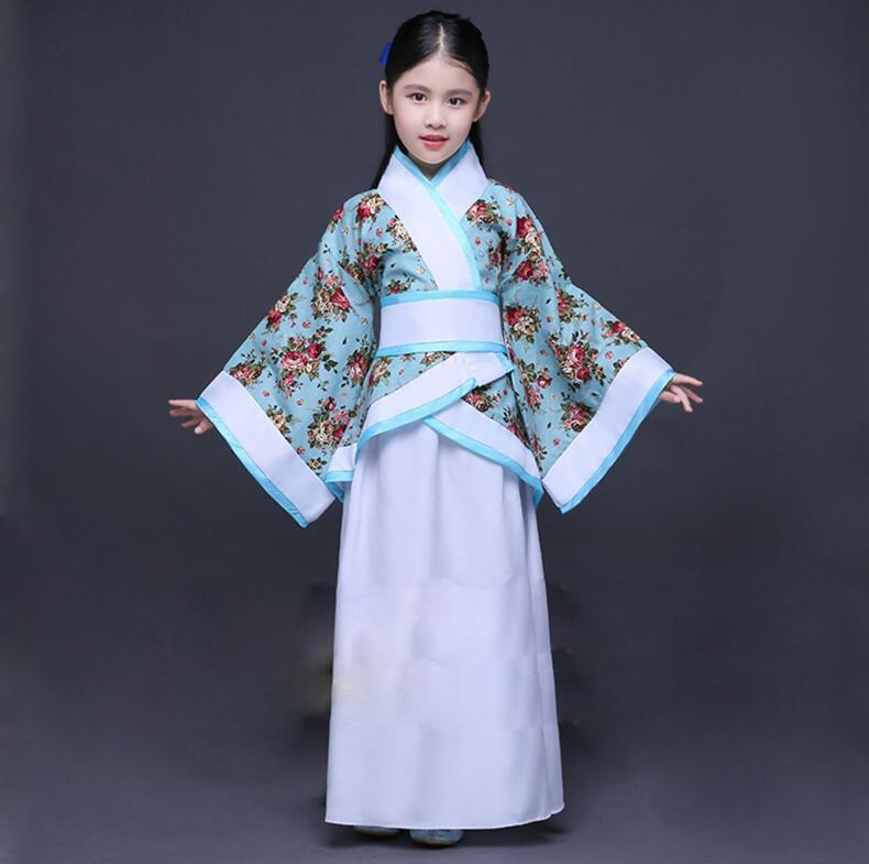 Chinese Ancient Costume Dress 2 Color Costume Chinese Ancient Costume Chinese Traditional Costume Hanfu Girls Hanfu Dresses